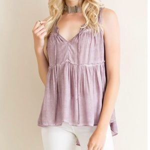Tops - Tiered Babydoll Top